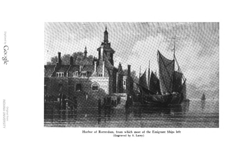 Rotterdam Harbor, Germany: A Scene from The Frederick's Lives