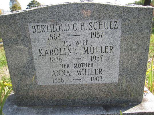 SCHULZ Berthold Carl Heinrich