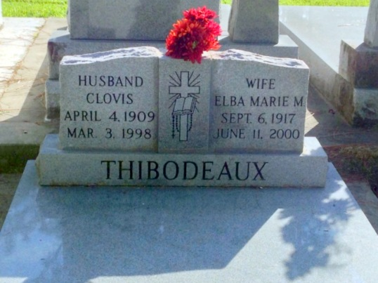 Maternal Grandfather Clovis Thibodeaux and his Second Wife